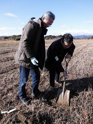 S-121土壌調査渡部田圃